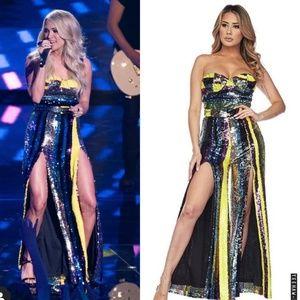 Jumpsuit Carrie Underwood Sequin Jumpsuit